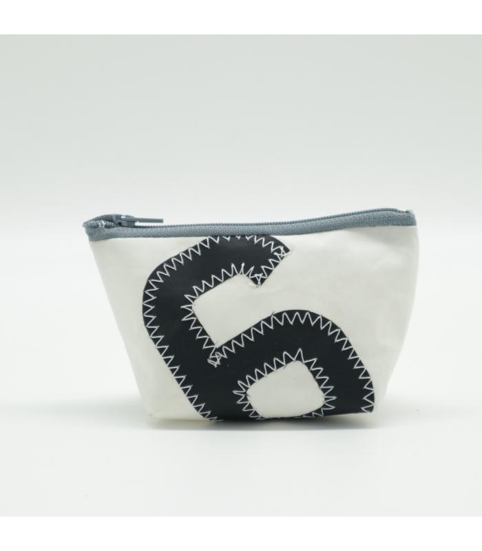 Porte-monnaie en voile numéro noir